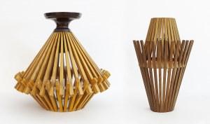 Lampa wisząca z kinkietem