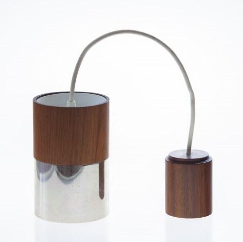 Lampa wisząca [z metalowym kloszem] - typ: 756, Firma: TEMDE LEUCHTEN