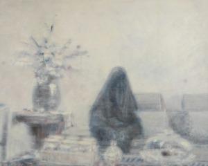 Norman LETO (ur. 1980), Kobieta z zakwefioną twarzą, 2013
