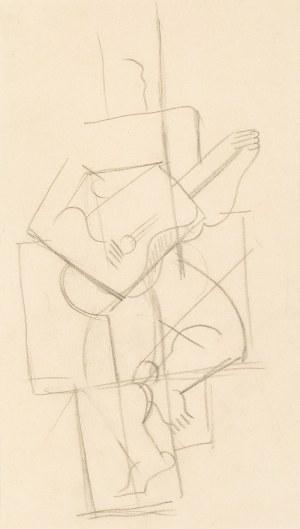 Marek WŁODARSKI (1898 - 1960), Rysunek kubistyczny IV 7 268