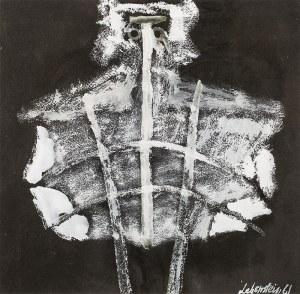 Jan LEBENSTEIN (1930 - 1999), Figura osiowa, 1961