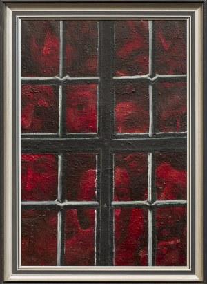 Eugeniusz MUCHA (1927 - 2012), Za oknem, przed 1983