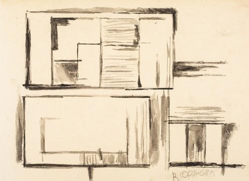 Roman OPAŁKA (1931 - 2011), Projekt, nd.