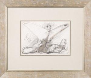 Franciszek STAROWIEYSKI (1930 - 2009), szkic do Piety Anielskiej, 1988