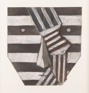 Stasys EIDRIGEVICIUS (ur. 1949), Krawat w paski, 1999