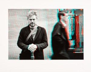Ben VINE, Willem Dafoe, stereogram w Paryżu, 2018
