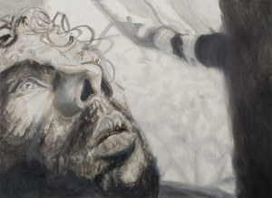 Norman LETO (ur. 1980), Bez tytułu (męski portret)