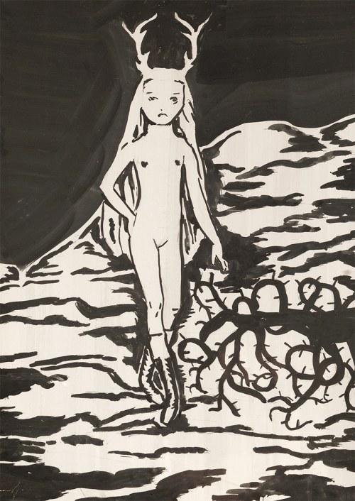 Aleksandra WALISZEWSKA (ur. 1976), Bez tytułu, 2013 (leśna dziewczynka)