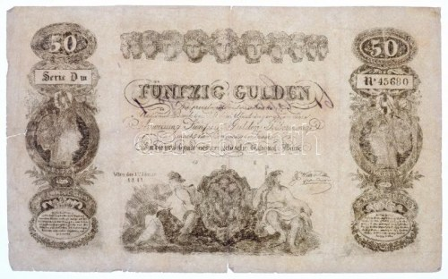 1841. 50G Privilegirte Oesterreichische National Bank...
