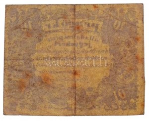 Komárom 1849. 10kr 3mm-es betűkkel T:III / Hungary / Komárom 1849. 10 Kreuzer 3mm wide letters C:F Adamo KOM-3.2...