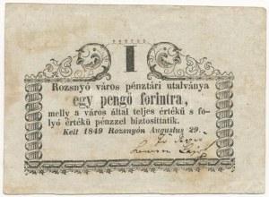 Rozsnyó 1849. 1Ft