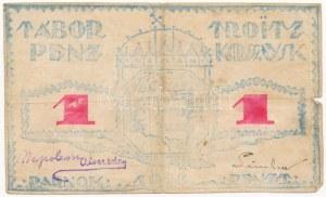 Orosz Birodalom / Troic-Kosszavszk / Tiszti Hadifogolytábor ~1918. 1R...
