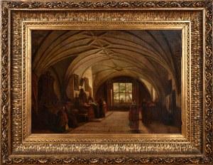 Marcin Zaleski [Przypisywany] (1796-1877), Zakrystia w Kościele św. Anny w Warszawie, 1840./1850.