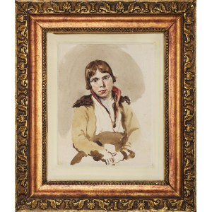 Piotr Michałowski (1800-1855), Portret chłopca