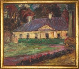 Adam Rychtarski (1885-1957), Dom w ogrodzie, 1939