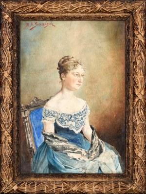 Michał Adam Sozański (1853-1923), Portret kobiety