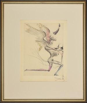 Salvador Dali (1904-1989), Le demon aile, wydanie 1967