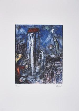 Marc Chagall (1887-1985), granolitografia / 37 x 30 cm [wymiary odbitki]