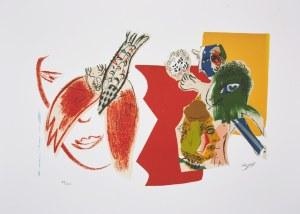 Marc Chagall (1887-1985), granolitografia / 37 x 54 cm [wymiary odbitki]