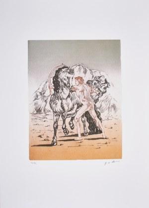 Giorgio Di Chirico (1888-1978), Scena mityczna