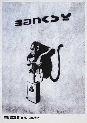 Banksy (Ur.1974), Exploding monkey, 2006