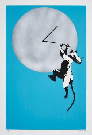 Banksy (Ur.1974), Clock Rat, 2019