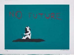 Banksy (Ur.1974), No Future, 2019