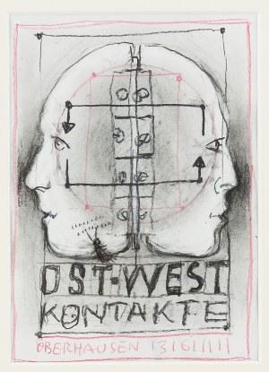 Franciszek Starowieyski (1930 Bratkówka k. Krosna - 2009 Warszawa), OST - WEST KONTAKTE