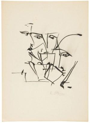 Roman Opałka (1931 Abbeville-Saint-Lucien - 2011 Rzym), Bez tytułu