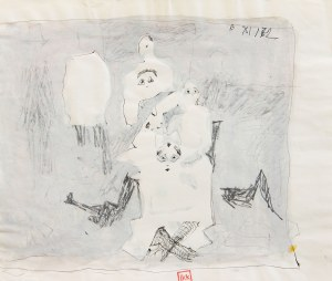 Zbysław Maciejewski (1946 Pohulanka - 1999 Kraków), Grupa, 1972 r.