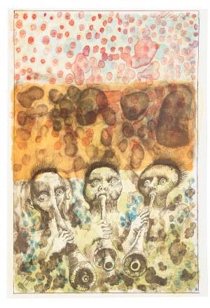 Jan Lebenstein (1930 Brześć Litewski - 1999 Kraków), Teka do wydawnictwa 50 lat poezji