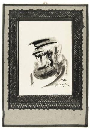 Józef Charyton (1912-1975), Portret Żyda, 1966 r.