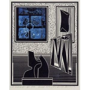 Henryk Płóciennik (1933-2020), W galerii 24, 2004 r.