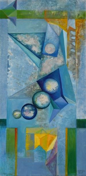 Joanna Banek, Z cyklu: Krystaloskopia, 2017