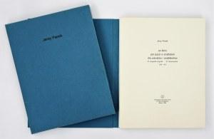Jerzy Panek (Ur. 1918 - Zm. 2001), książka ze zbiorów graficznych ZPAP