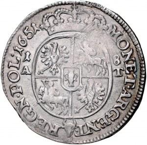 Jan II Kazimierz 1649-1668, Ort 1651, Poznań, RR.