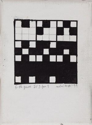 Ryszard Winiarski (1936 - 2006), Game 3 x 3 for 1, 1999