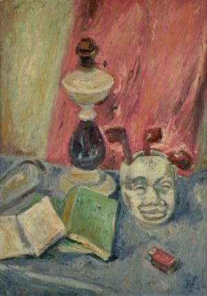 Jan Hrynkowski (1891-1971), Martwa natura z maską