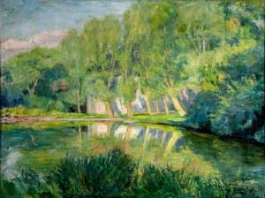 Roman Kramsztyk (1885-1942), Staw, przed 1913 r.