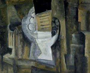 Alicja Halicka (1889-1974), Martwa natura kubistyczna, 1914