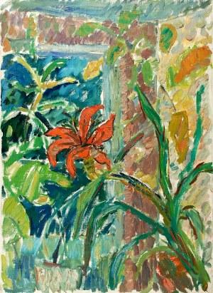 Paweł Taranczewski (Ur. 1940), Kwiaty w oknie