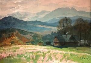 Michał Stańko (1901-1969), Widok na Tatry z Giewontem