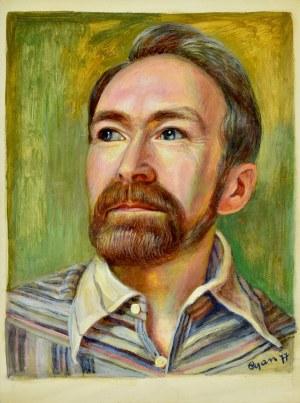 Zdzisław (Cyan) Cyankiewicz (1912-1981), Portret mężczyzny (autoportret?)