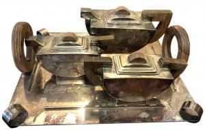 SERWIS DO KAWY I HERBATY art déco, lata 30. XX w.
