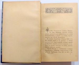 Kraushar, Drugi Pamiętnik Kilińskiego 1906