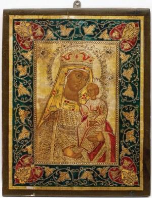 IKONA MATKI BOŻEJ - HODEGETRIA, Rosja, XIX w.