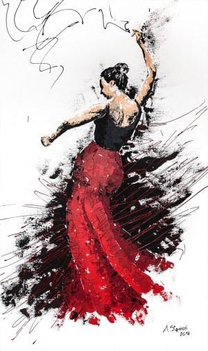 Anna Stępień (ur. 1982), Gorące flamenco, 2018
