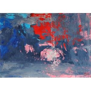 Kinga Wnuk-Moskalska (ur. 1975), Nadmorski zachód słońca, 2014