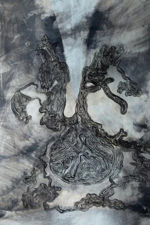 Jakub Słomkowski, Bez tytułu (Ćma) z cyklu Indian Slava, 2019
