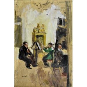 Aneri Irena Weissowa (1888-1981), Domowy koncert, ok. 1910